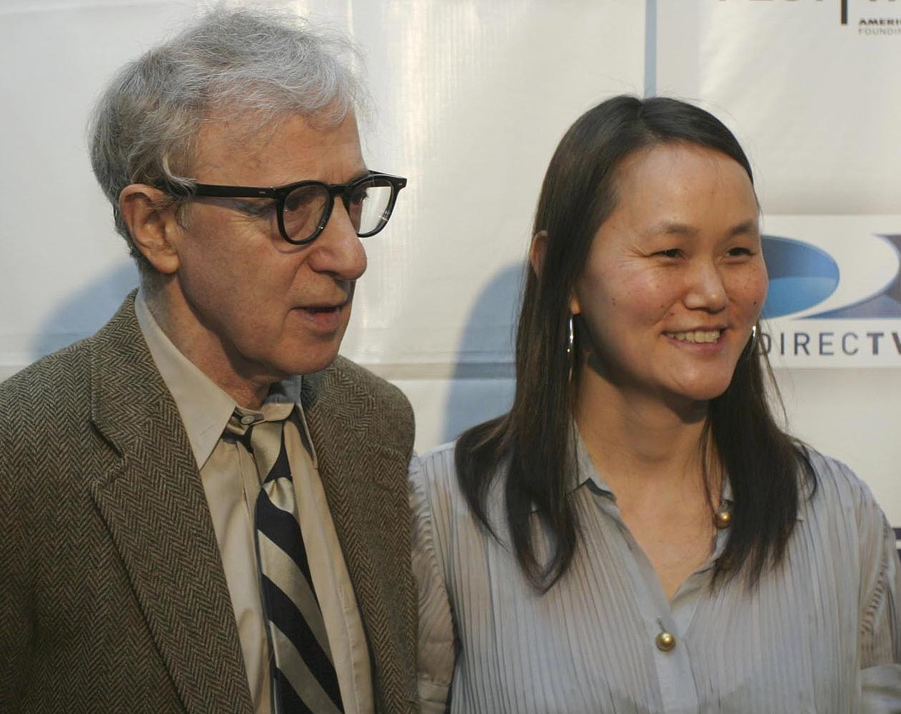 Woody Allen y Soon-Yi Previn. | Foto: Wikimedia Commons