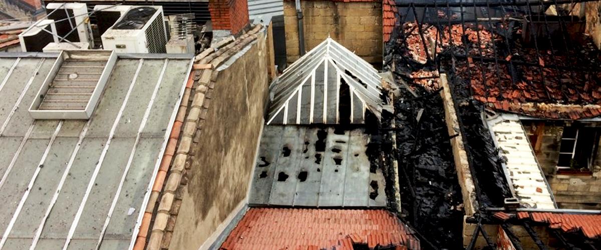 Bordeaux : Un incendie de grande ampleur a touché 50 bâtiments de la rue Ferrère