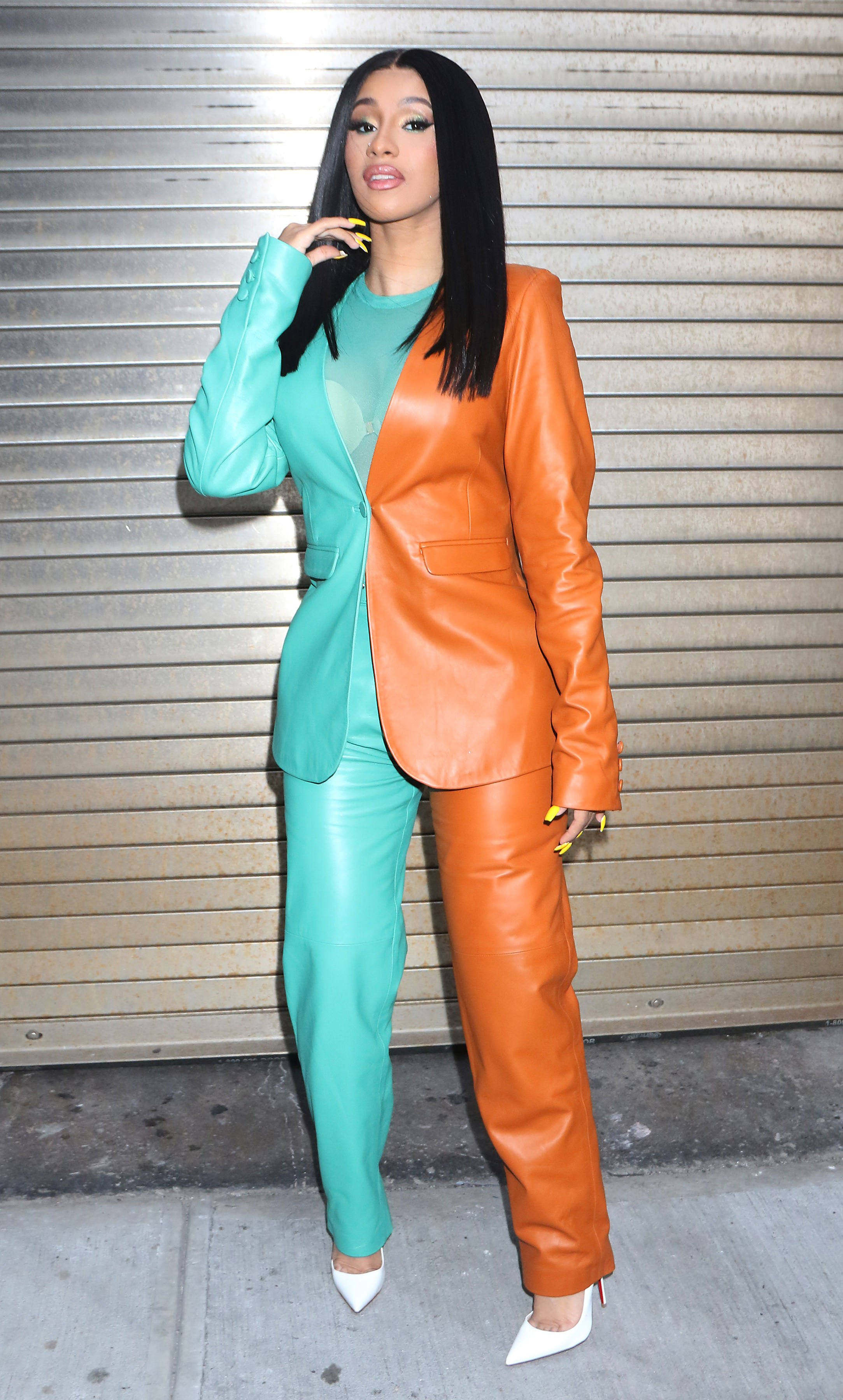 Cardi B makes an appearance in New York City on October 10, 2019 | Photo: Getty Images