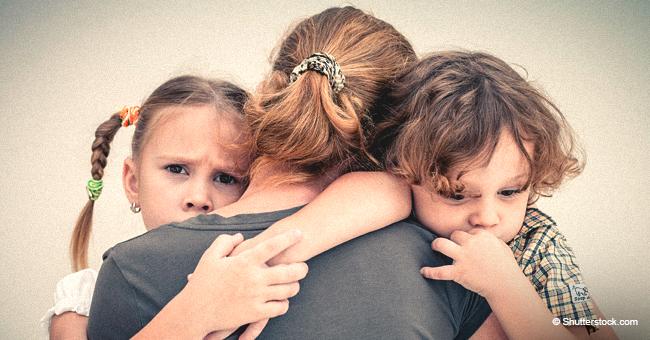 Devastada, madre de dos cuenta que su esposo por 14 años los dejó por una desconocida