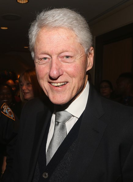 Bill Clinton at The Samuel J. Friedman Theatre on January 8, 2019 in New York City | Photo: Getty Images