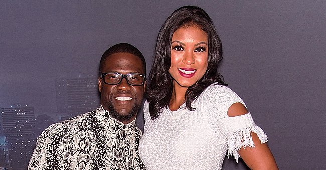 See Kevin and Eniko Hart's Son Kenzo Learn the Alphabet through an Exciting Toy in a New Photo