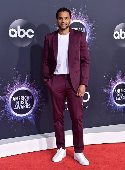 Michael Ealy attends the 2019 American Music Awards at Microsoft Theater in Los Angeles, California | Photot: Getty Images