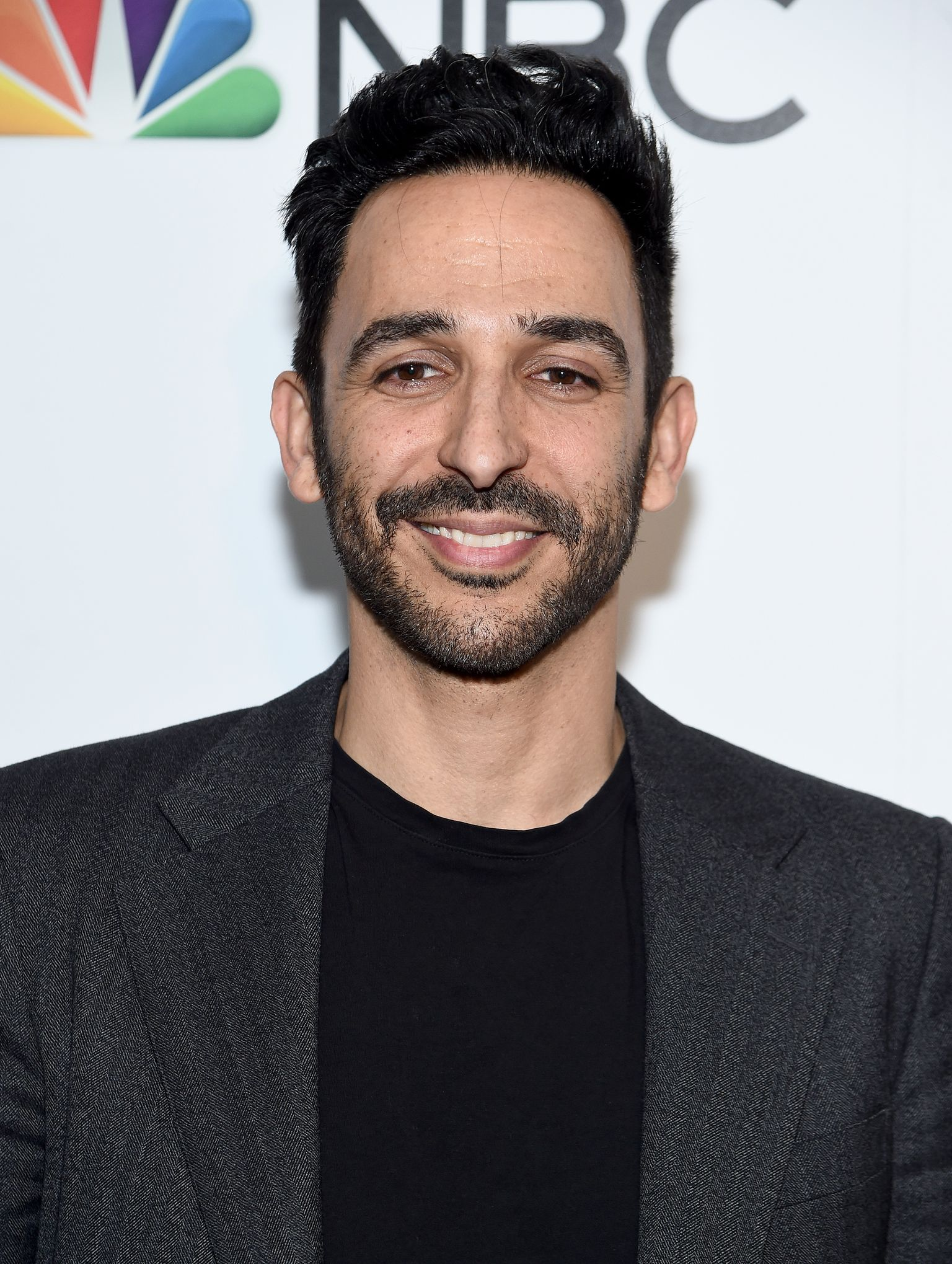 Amir Arison at a NBC and The Cinema Society event in January 2020 in New York City | Source: Getty Images
