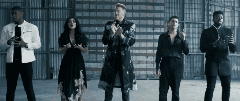 "Pentatonix perform ""Sounds of Silence.""  