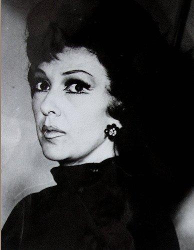 Actriz Amparo Rivelles, gran protagonista del cine posguerra.   Foto: Flickr