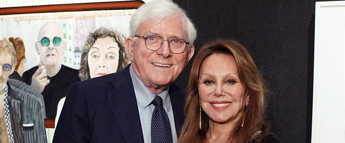Marlo Thomas and Phil Donahue Urge Fans to Stay Home for Their Loved Ones in a New Photo