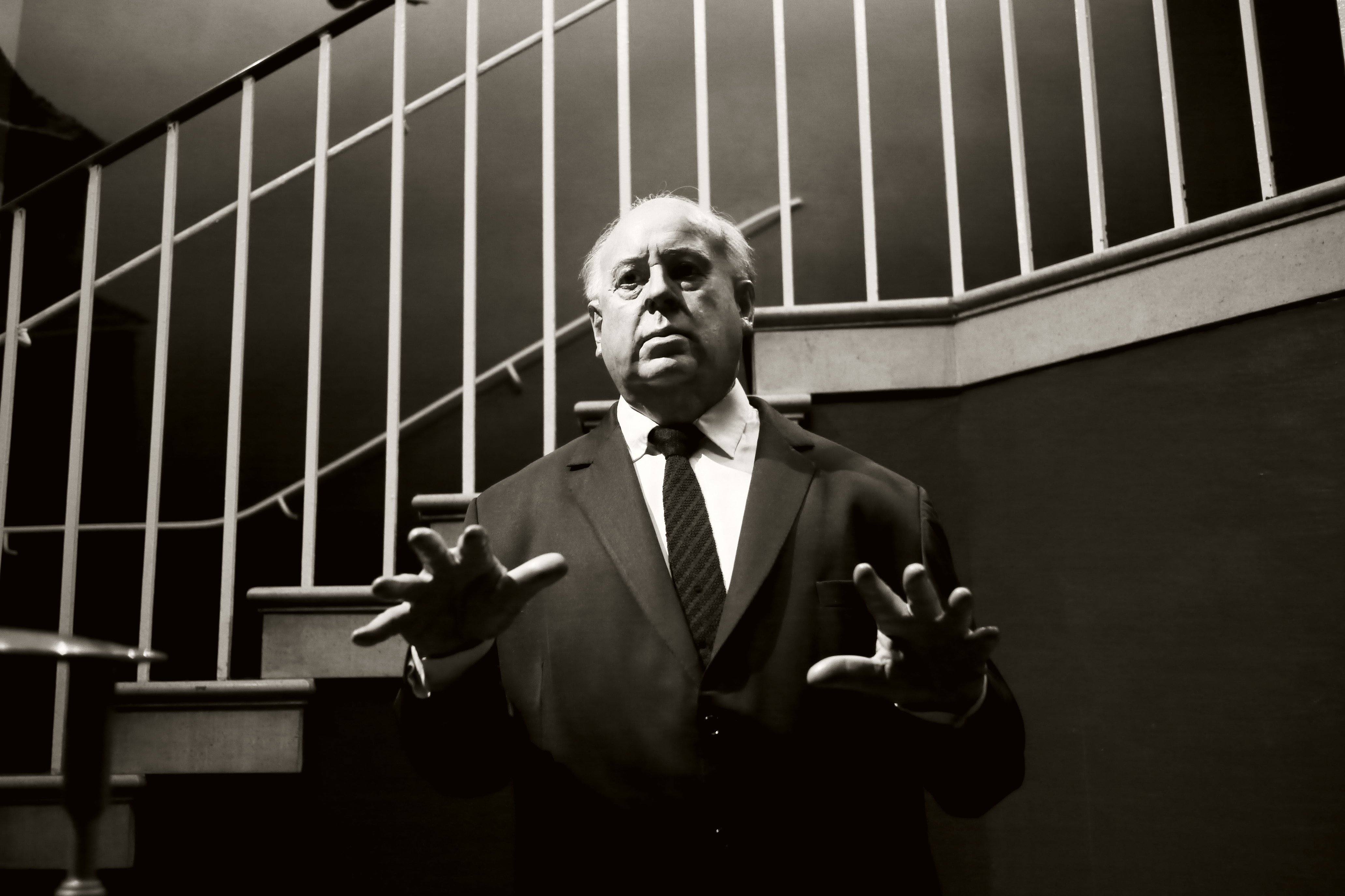Hitchcock fue un cineasta de imágenes fuertes y poderosas.| Fuente: Wikimedia Commons