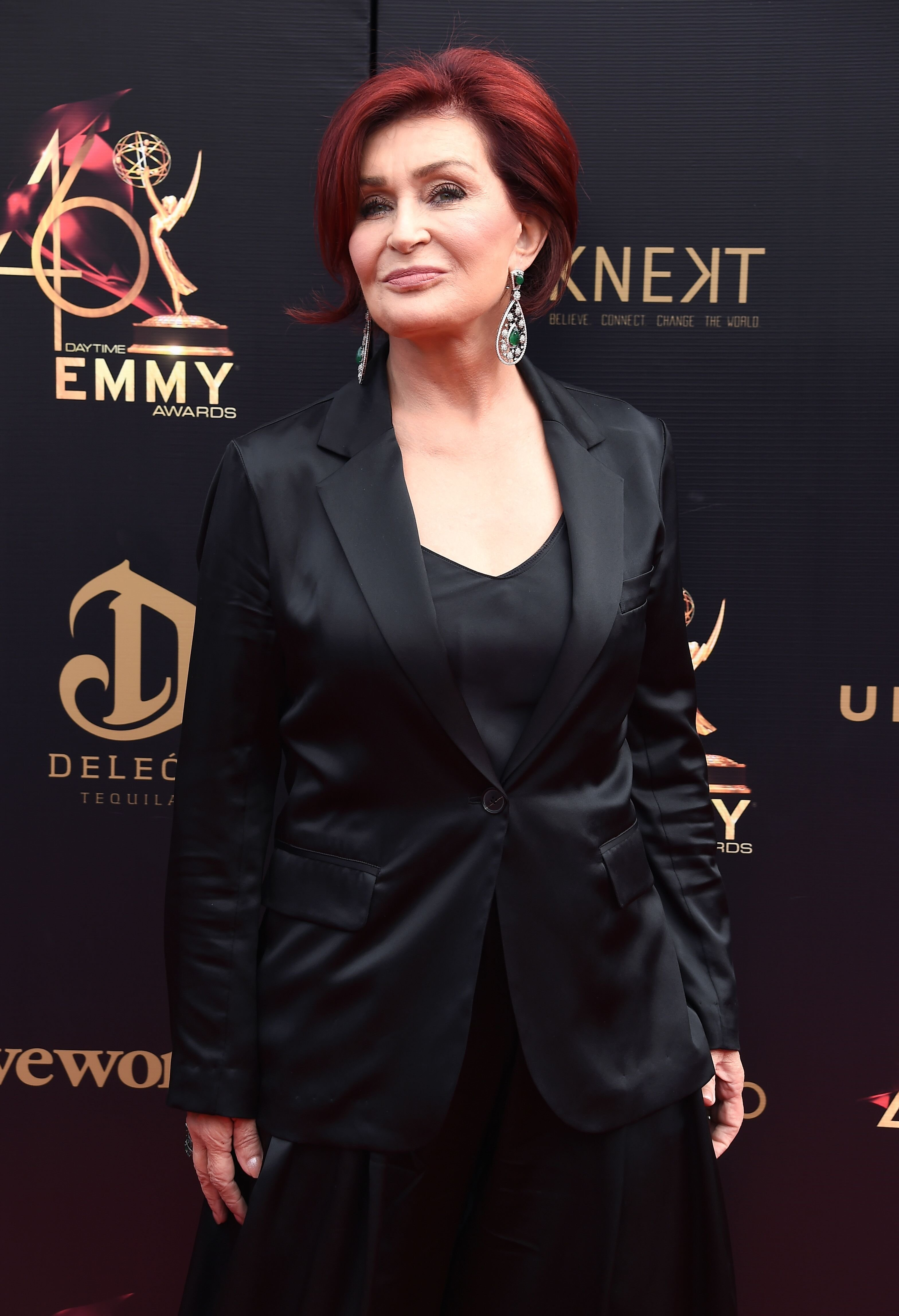 Sharon Osbourne at the 46th annual Daytime Emmy Awards on May 05, 2019 | Source: Getty Images