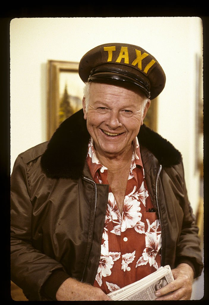 """Alan Hale Jr. photographed for """"This is Your Life"""" which aired on November 17, 1987 