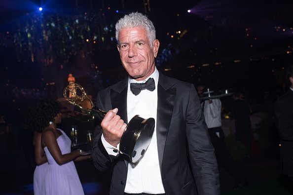 Anthony Bourdain at Microsoft Theater on September 10, 2016 in Los Angeles, California | Photo: Getty Images