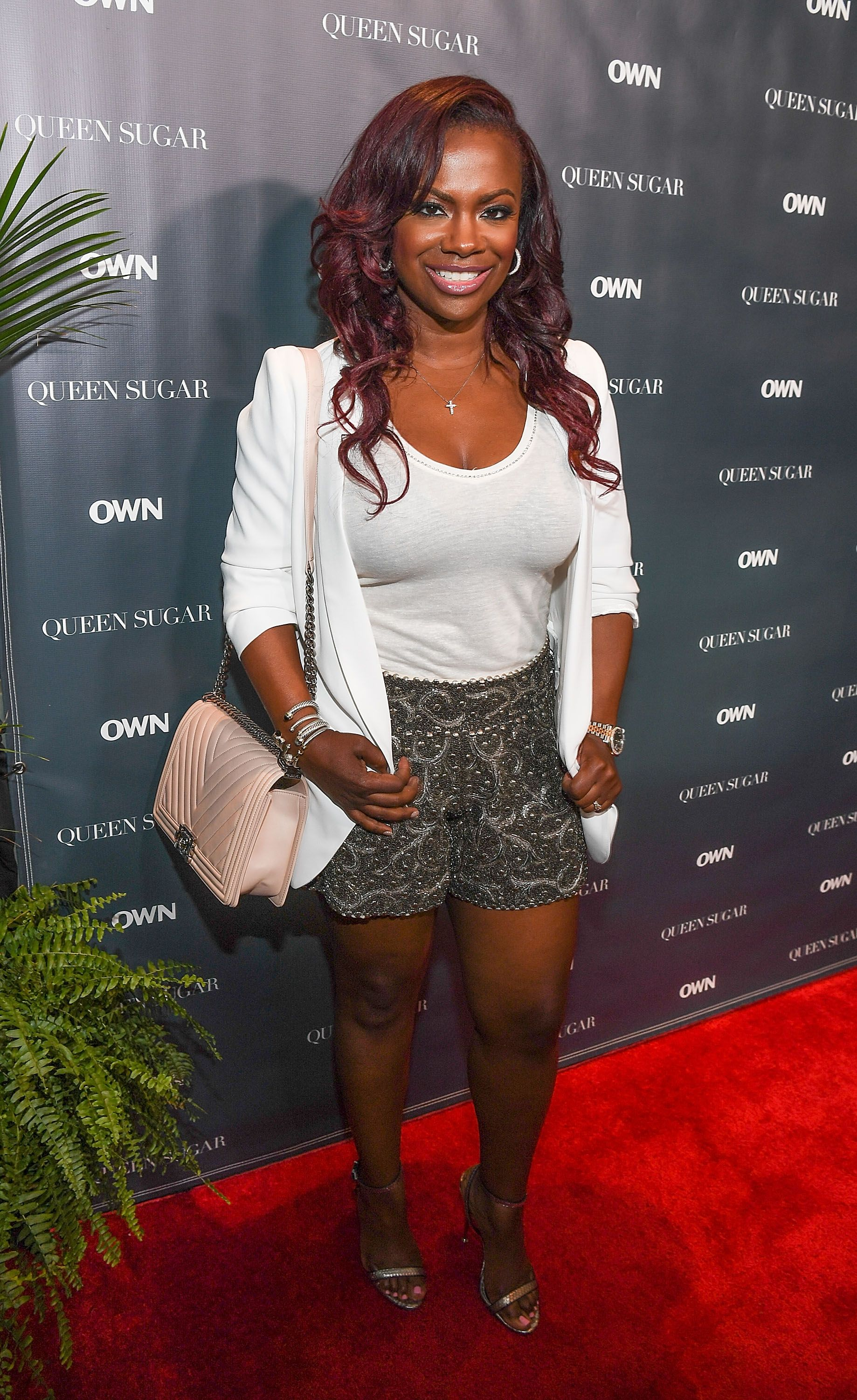 """On July 2, 2016 in New Orleans, Louisiana TV personality Kandi Burruss attends the """"Queen Sugar"""" cocktail reception at Legacy Kitchen   Photo: Getty Images/Paras Griffin"""