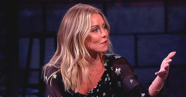 Kelly Ripa Stops by 'Jimmy Kimmel Live' and Talks about Son Michael Adjusting to Adult Life in Brooklyn