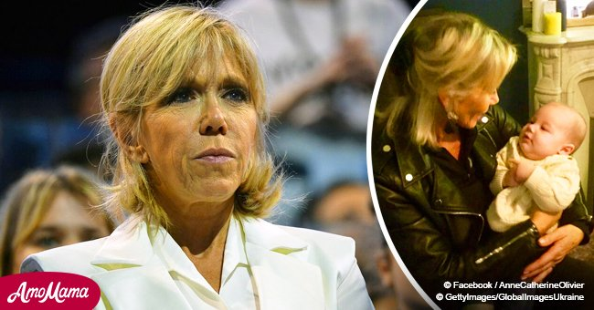 Le sosie de Brigitte Macron s'est jointe au gilet jaune pour protester (Photo)