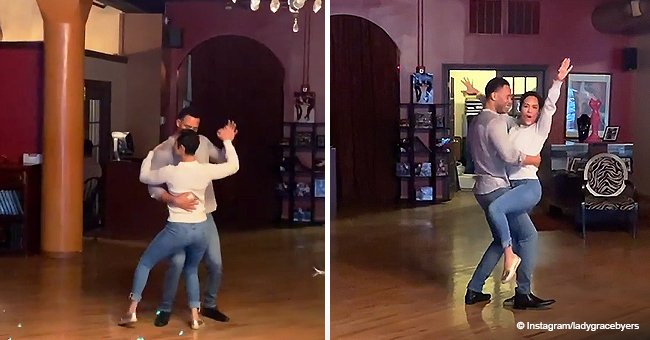 'Empire's Trai Byers & Wife Grace Turned up the Heat, Dancing Rumba Passionately in Sweet Video