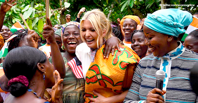 Ivanka Trump Busts out Her Dance Moves in Ethiopia