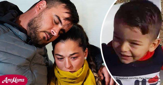 L'image émotionnelle des parents de Julen alors qu'ils assistent à une veillée pour prier pour la vie de l'enfant