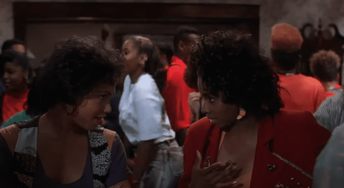 A.J. Johnson in a scene of House Party (1990)   Photo: Youtube /  Arslan