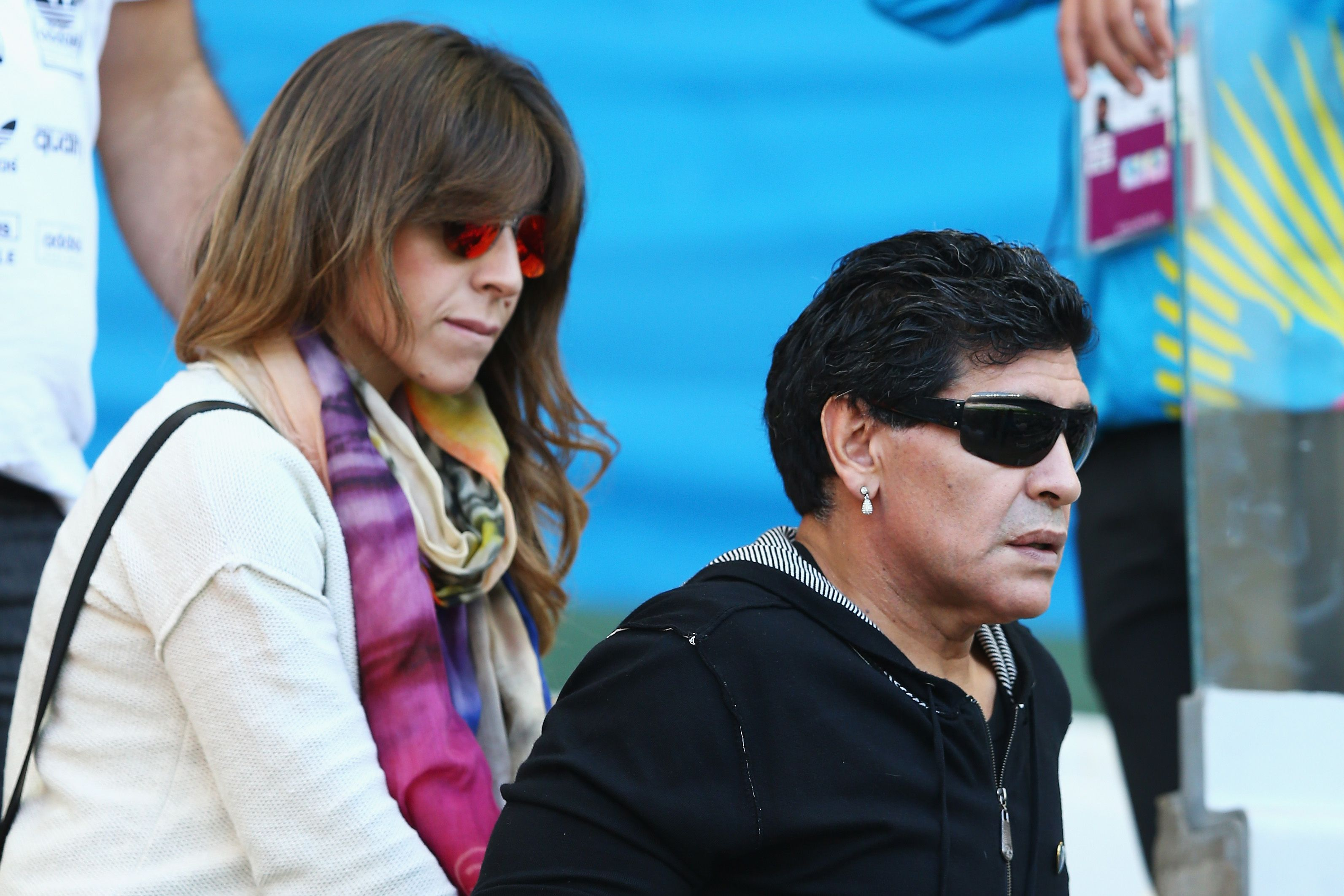 Giannina Maradona, le 21 juin 2014 à Belo Horizonte, au Brésil. | Photo : Getty Images