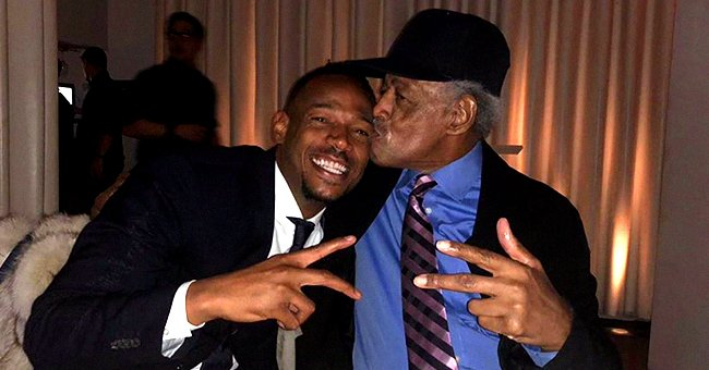 Marlon Wayans Shares Photo With His Dad, Showing Their Uncanny Resemblance