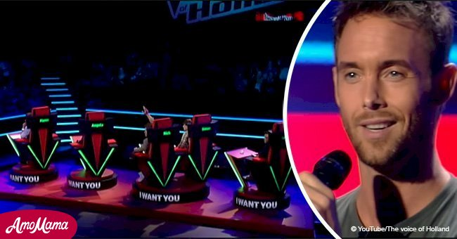 After singing 5 words, 'The Voice' contestant made all the judges turn their chairs