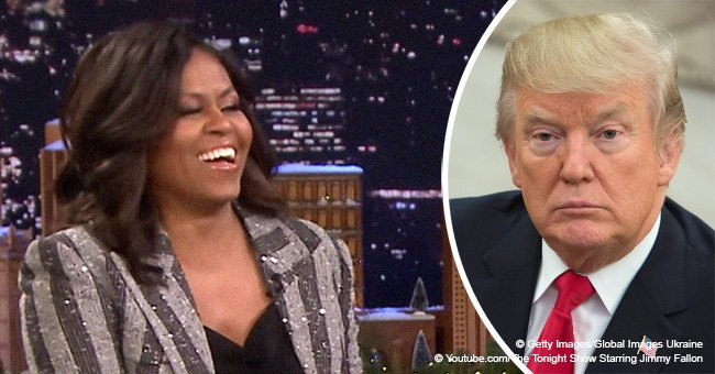 Michelle Obama's thoughts on leaving White House to Trump makes crowd laugh out loud in new video