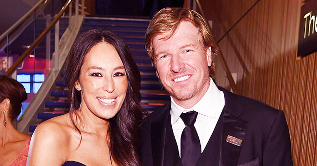 'Fixer Upper' Star Joanna Gaines Shows off Her & Chip's Toddler Son Holding His 1st Pumpkin