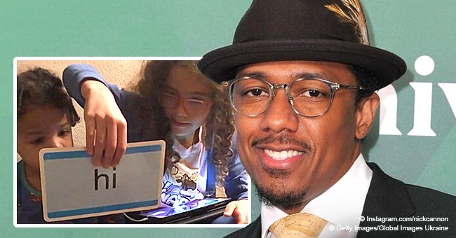 Nick Cannon shares video of daughter Monroe teaching her younger brother how to read