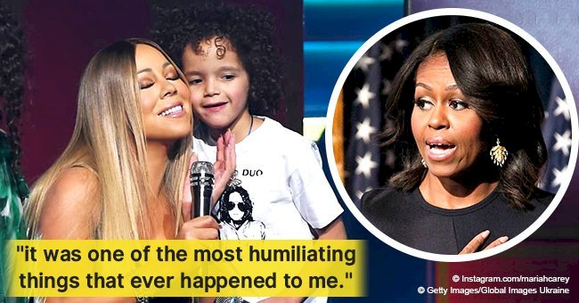 Mariah Carey reveals her 'humiliation' when son Moroccan vomited on Michelle Obama
