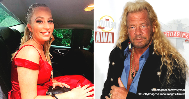 Duane Chapman's Granddaughter Abbie Mae Dressed up in a Red Formal Dress for Her Senior Prom