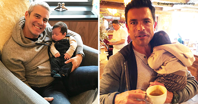 Andy Cohen's Son Shows off His $400 Fendi Pants and Melts Mark Consuelos' Heart