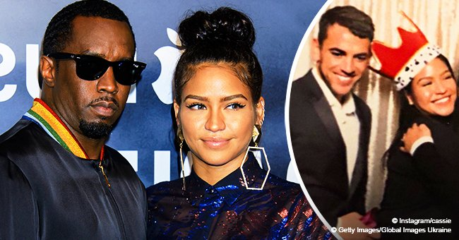 Cassie Gets Steamy with New Man in Pic after Diddy Confessed He