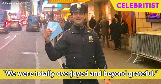 NYPD officer who gave $20 so stranger short on money can watch a musical still touches hearts