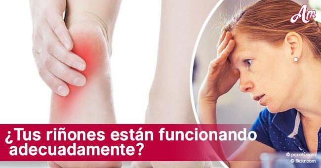 Síntomas que podrían revelar que tus riñones no están funcionando adecuadamente