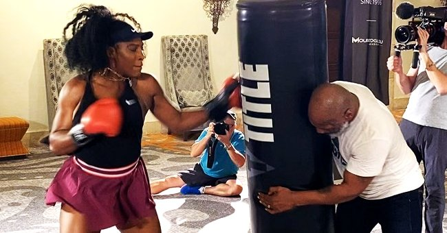 Serena Williams Gets Boxing Lesson from Mike Tyson during Preseason Training Ahead of 2020 Australian Open (Video)
