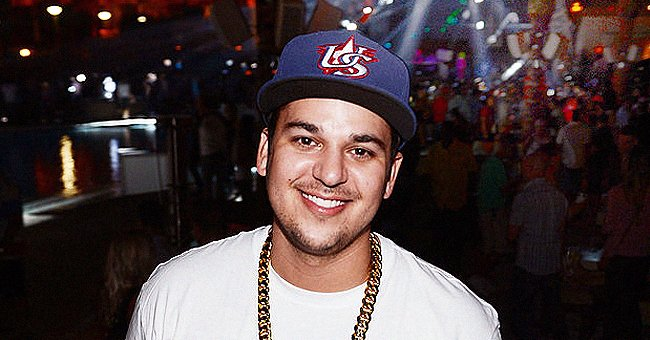 Rob Kardashian's Daughter Dream Wears Pink Swimsuit during Pool Day with Her Brother King Cairo