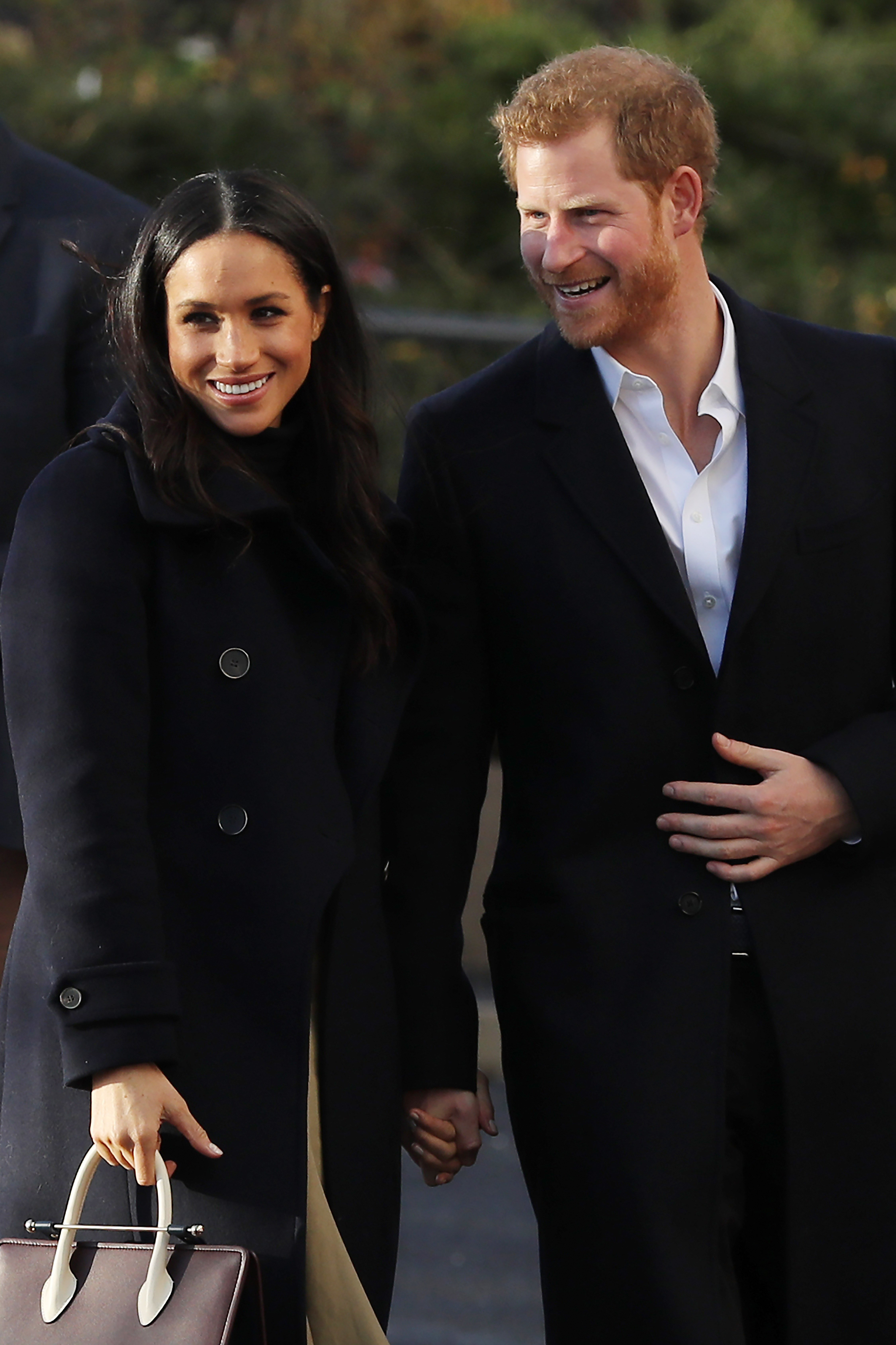 Prince Harry and Meghan Markle, visit the Nottingham Academy as part of their first official public engagements together on December 1, 2017 in Nottingham, England | Photo: Getty Images