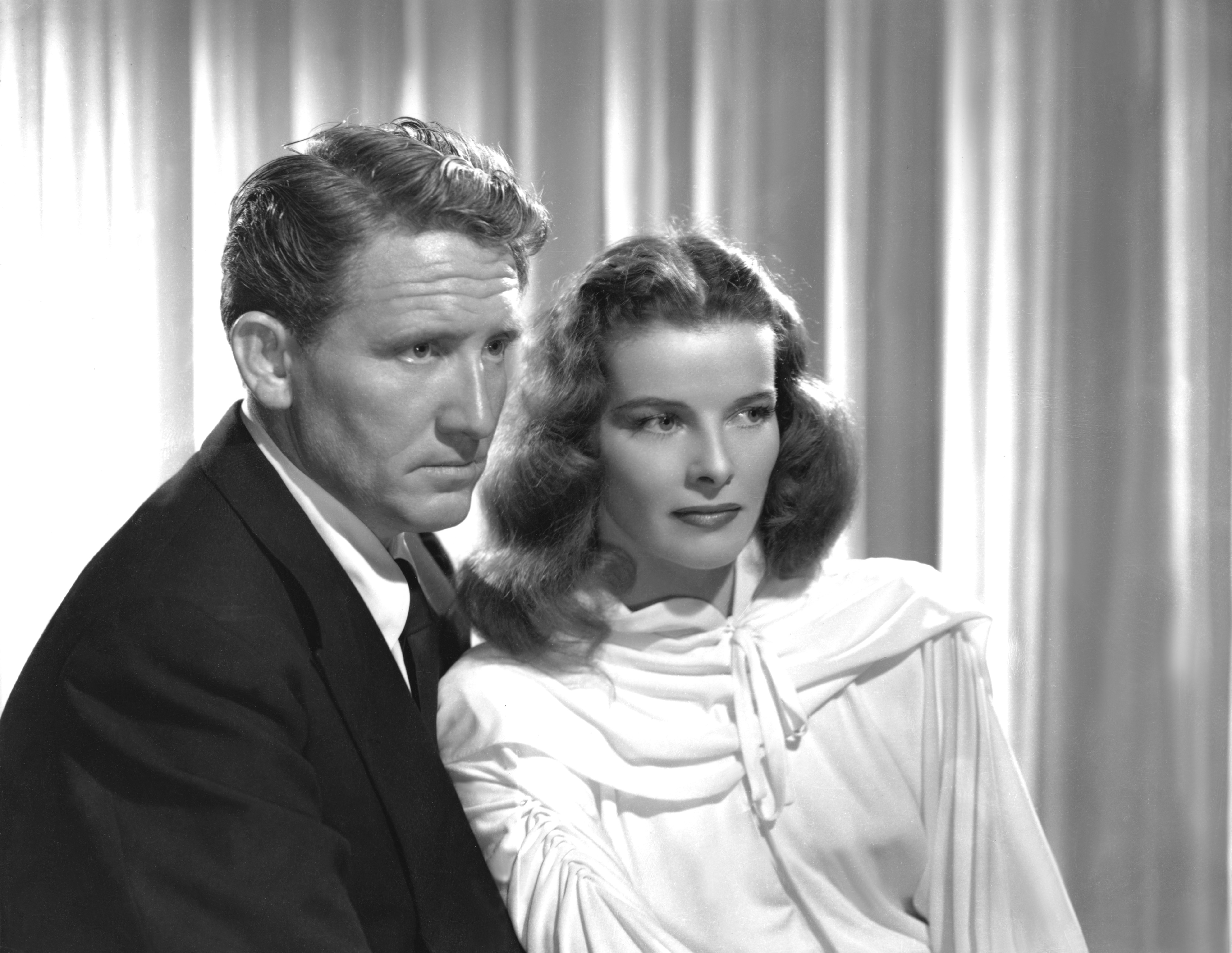 Katharine Hepburn & Spencer Tracy 'Keeper of the Flame' 1942 directed by George Cukor.   Source: Getty Images