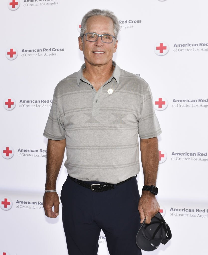 Gregory Harrison attends the American Red Cross Los Angeles Region's Celebrity Golf Tournament in Toluca Lake, California on April 17, 2017 | Photo: Getty Images