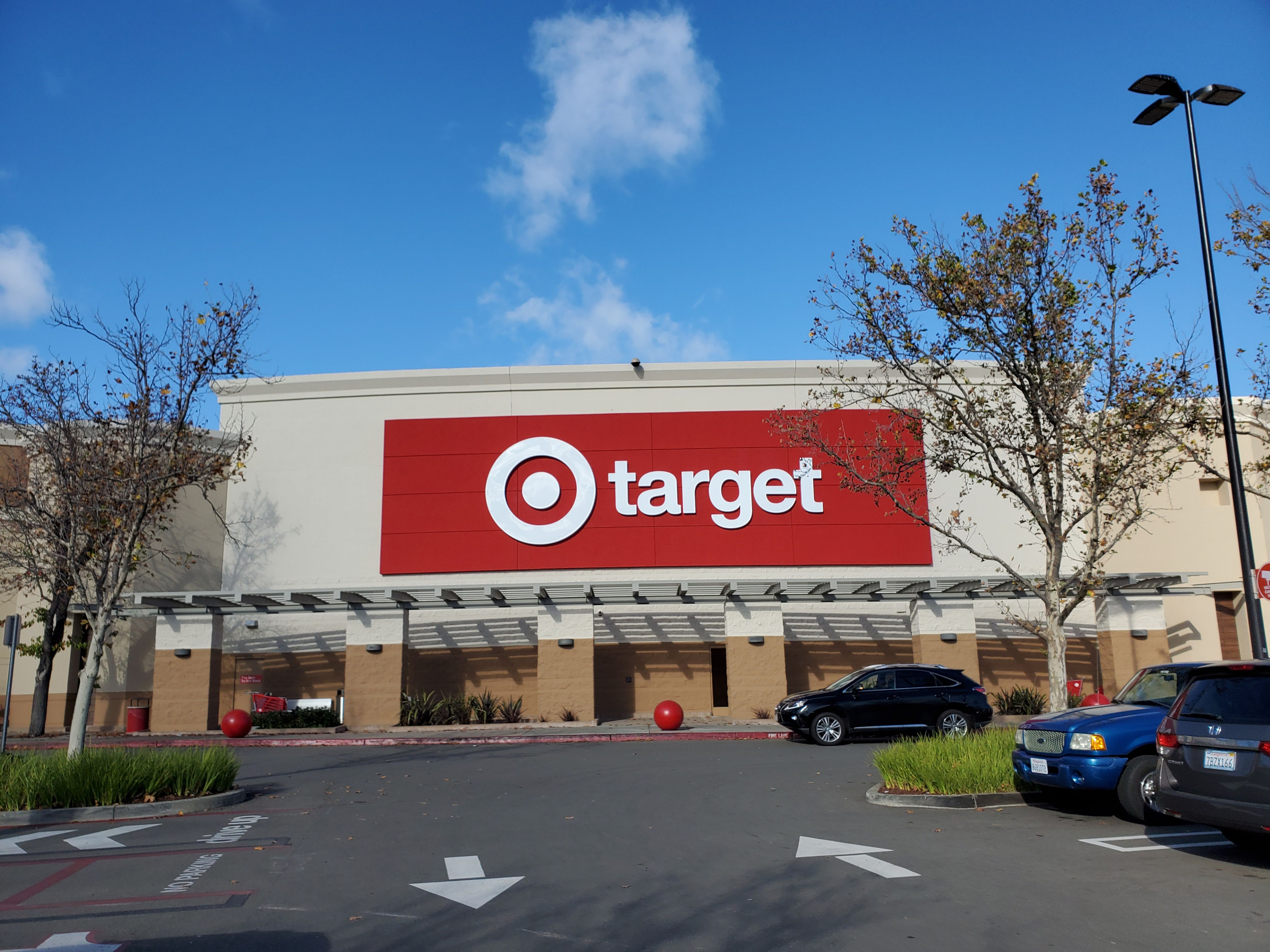 Facade with logo at Target retail store on a sunny day in San Ramon on December 15, 2019 | Photo: Getty Images