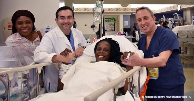 Exhausted Texas Woman Gives Birth to Six Babies in Less Than 10 Minutes