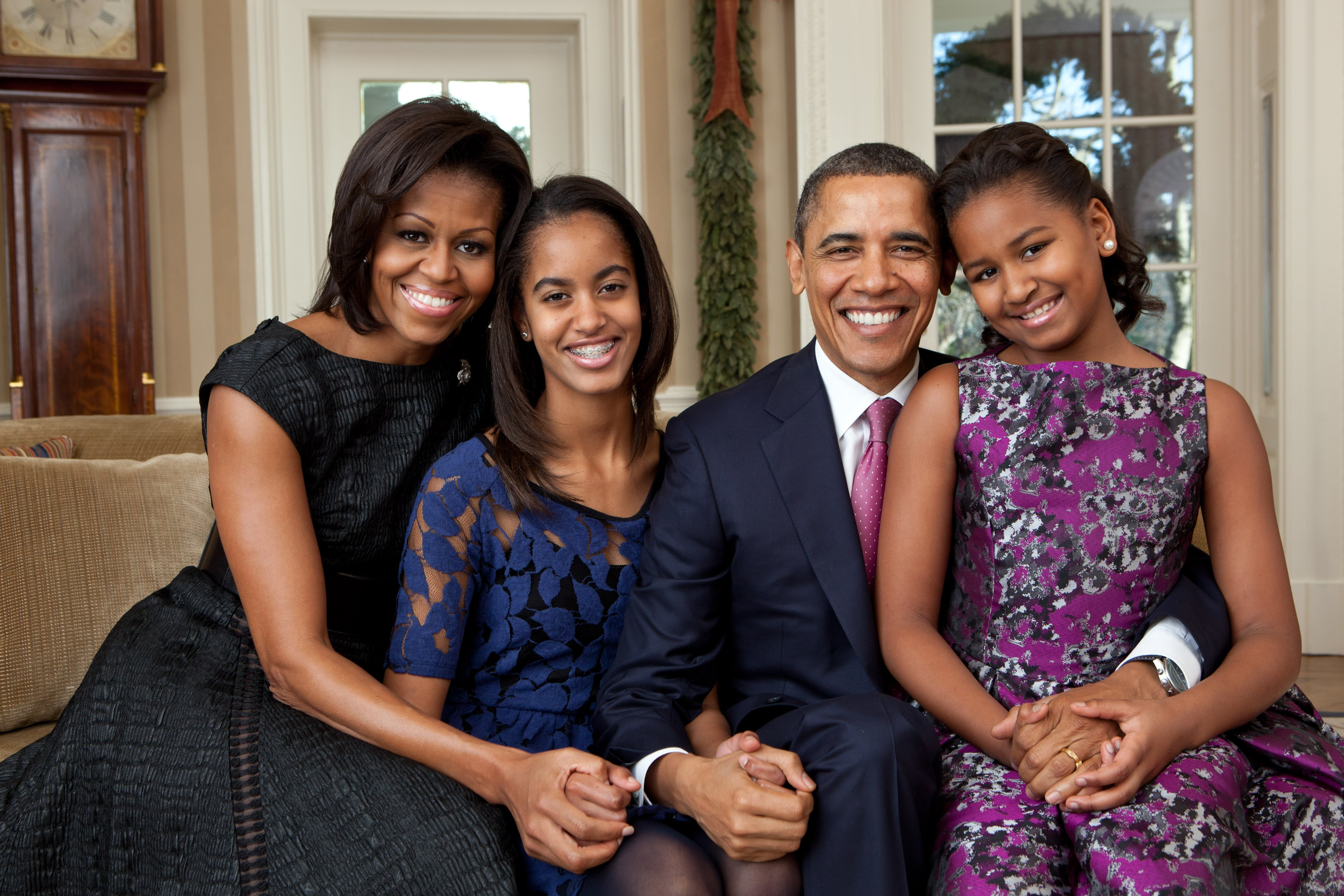 The Obamas. | Source: Getty Images