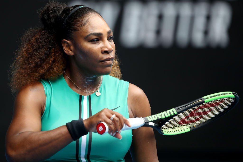 Serena Williams at the 2019 Australian Open in Melbourne, Australia on Jan. 15, 2019. | Photo: Getty Images