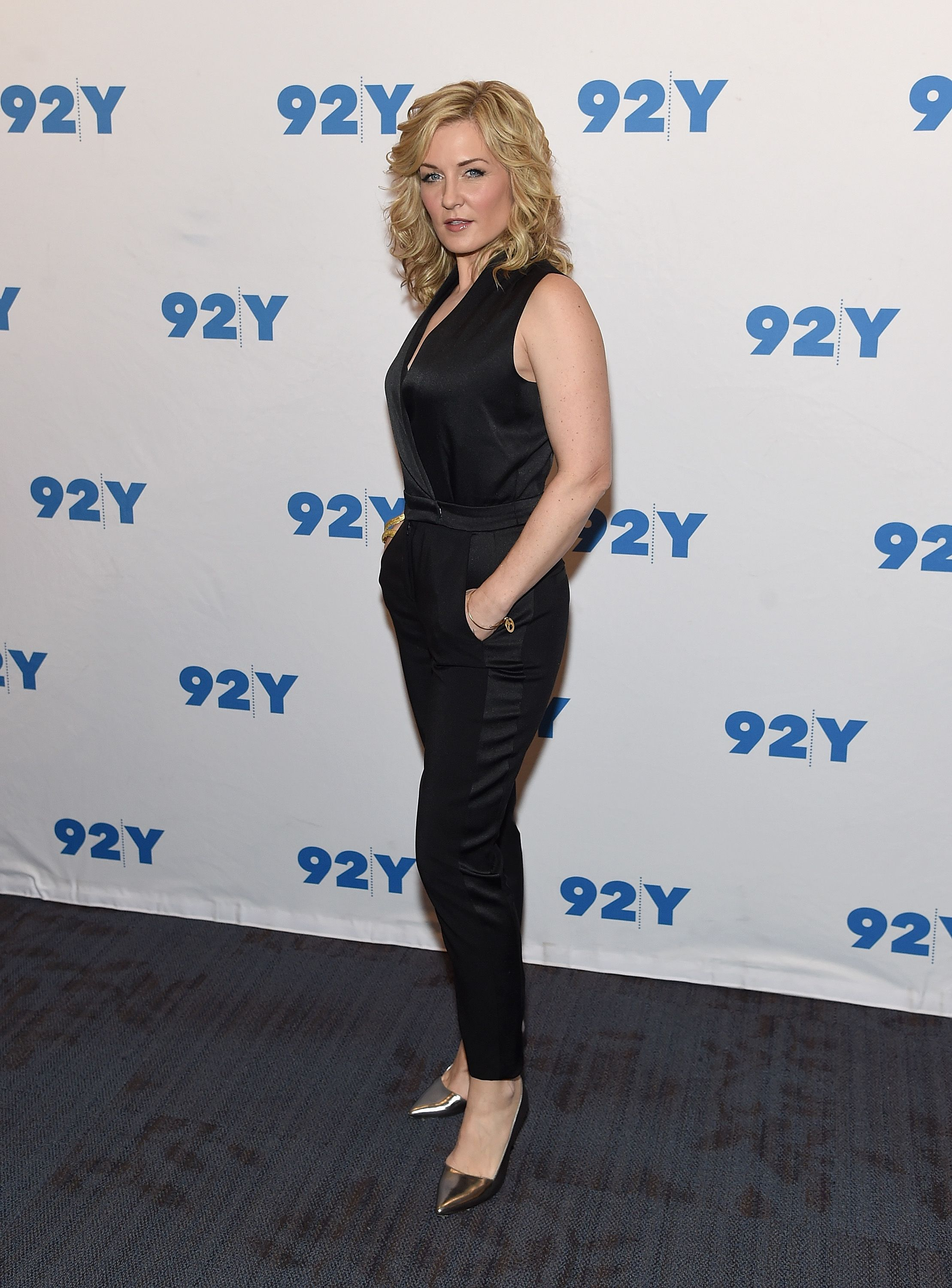 """Amy Carlson at the """"Blue Bloods"""" 150th Episode Celebration at 92nd Street Y on March 27, 2017, in New York City   Photo: Jamie McCarthy/Getty Images"""