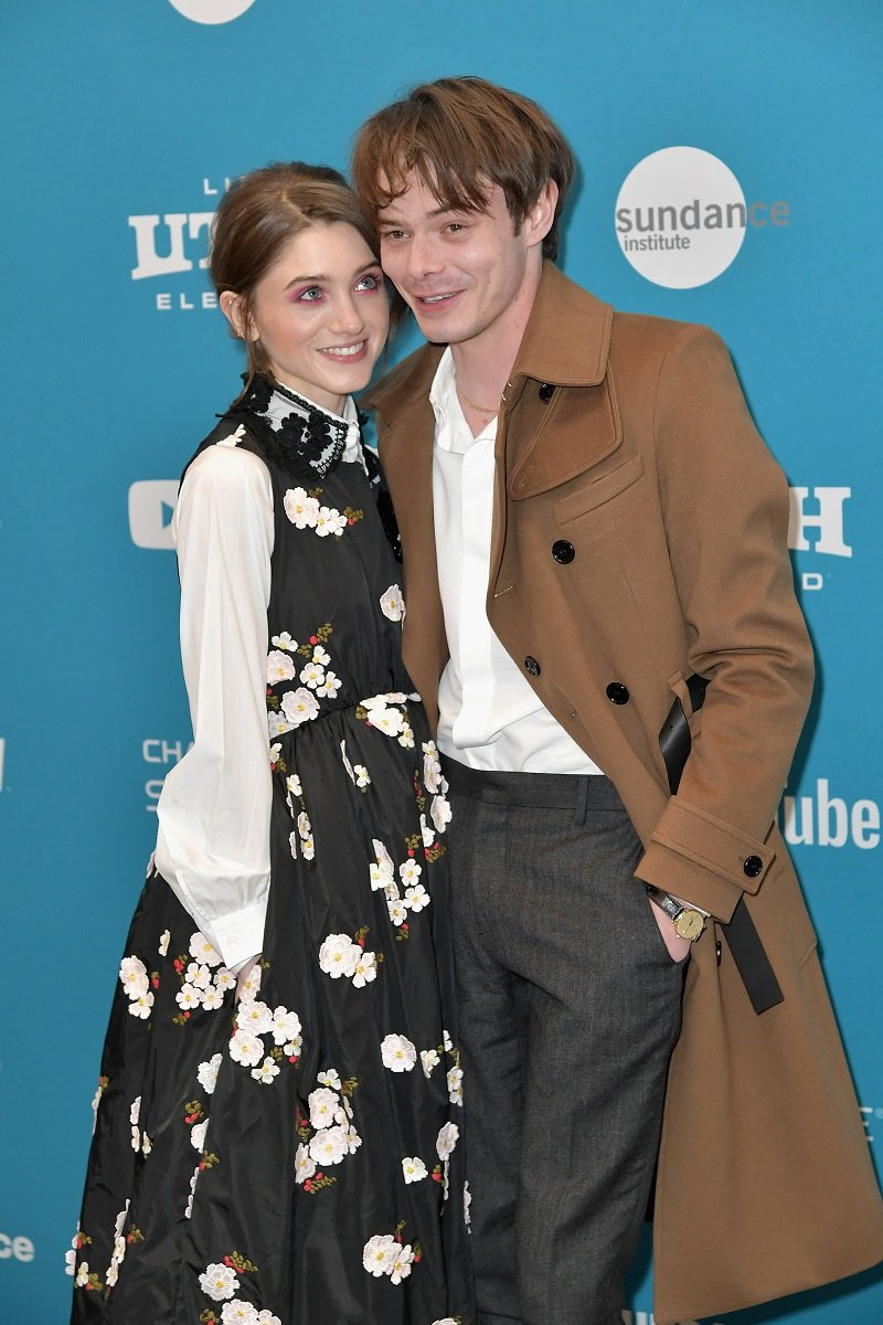 Natalia Dyer and Charlie Heaton on January 27, 2019 in Park City, Utah   Photo: Getty Images