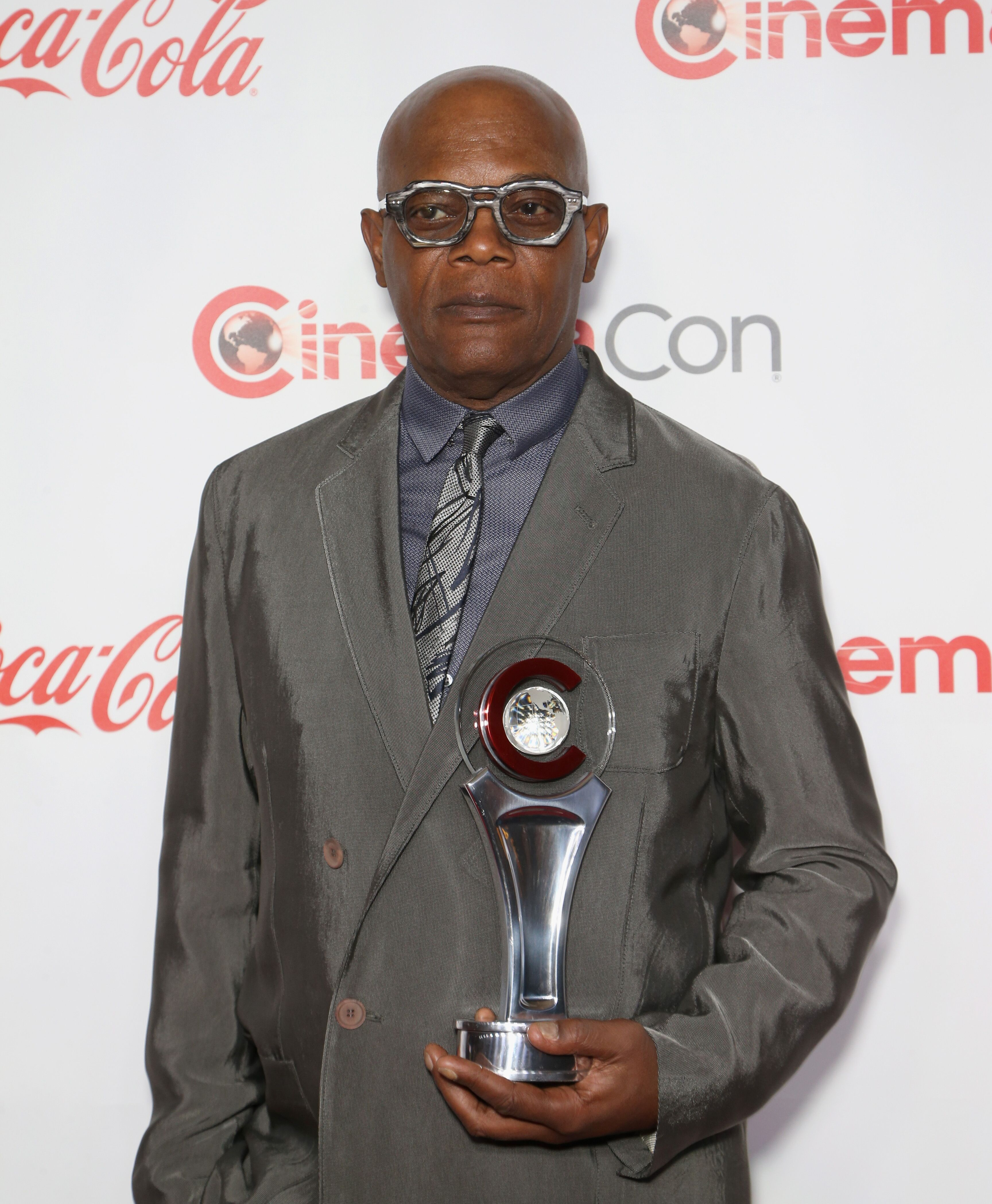 Samuel L. Jackson attends the CinemaCon Big Screen Achievement Awards.   Source: Getty Images