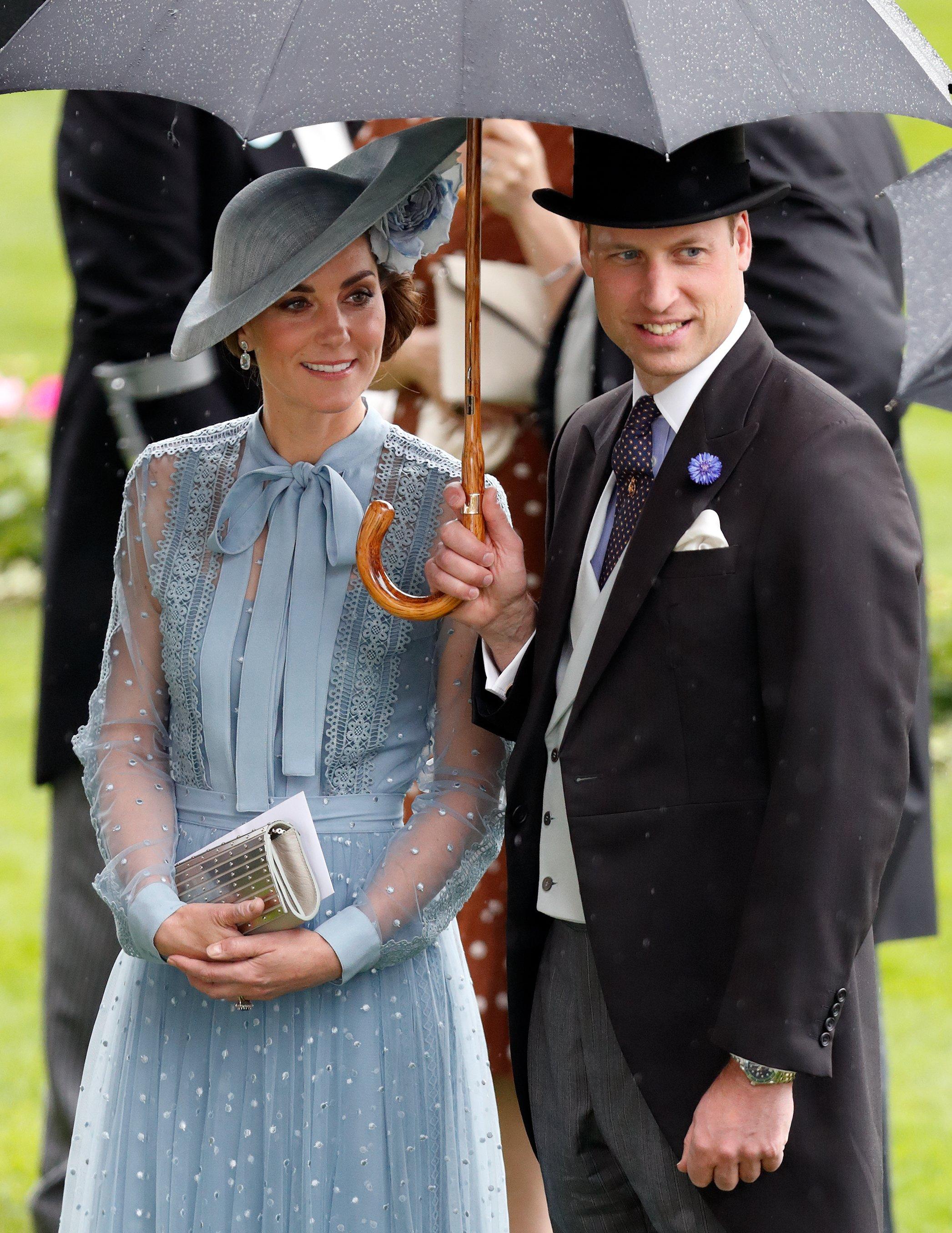 Prince William et Duchesse Kate au Royal Ascot | Photo : Getty Images