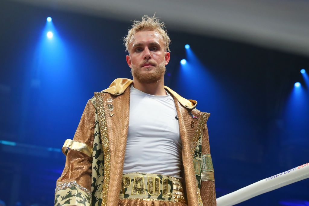 Jake Paul making his professional boxing debut at DAZN Miami Fight Night at the Meridian in Miami, Florida | Photo: Rich Graessle/Icon Sportswire via Getty Images
