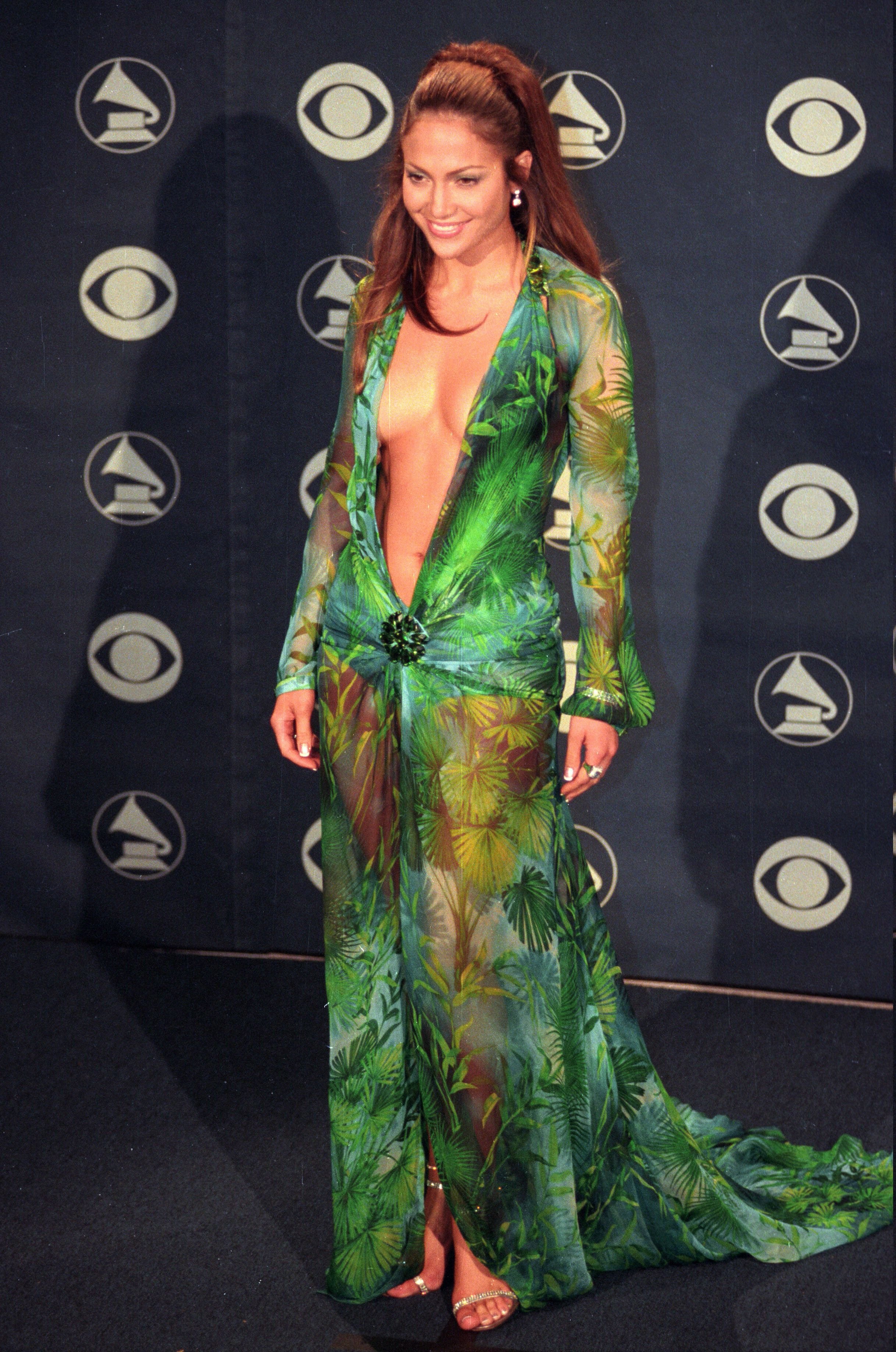 Jennifer Lopez at the 42nd Annual GRAMMY Awards. | Source: Getty Images