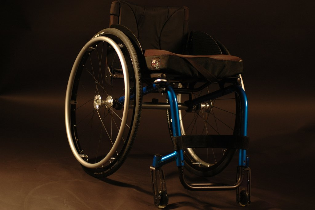 A wheelchair | Photo: Flickr